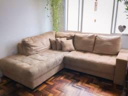 Sofá de canto retrátil