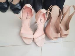 Sapatos usados em ótimo estado