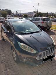 Ford New Fiesta SE 1.6 4P Powershift Preto 2013/2014