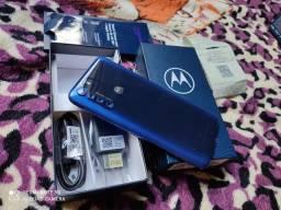 Moto One Fusion 64 GB Nota Fiscal Vendo Troco Aceito Cartão