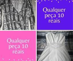 Qualquer vestido 10 reais cada