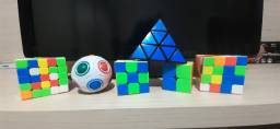 Cubos Mágicos :2x2, 3x3, 4x4, 5x5, Piramix e Rainbow Ball