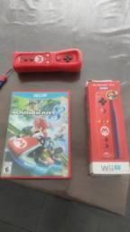 Wii remote original exclusivo do Mario + Mario Kart 8 original