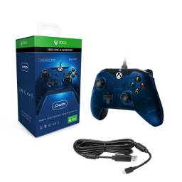 Controle Joystick Power A Xbox One Microsoft Cabo Usb 2,4m