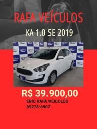 Ka 1.0 2019 com mil de entrada !! Rafa Veiculos - Eric-ccs57