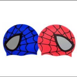 Touca de natação do homem aranha para crianças