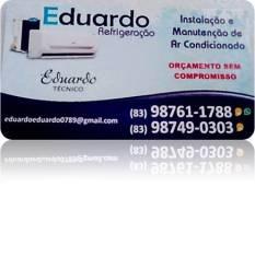 Instalação a parti de 150,00 reais, tec. em climatização