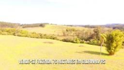 Fazenda em Glorinha 76 Ha Alto Padrão ou Vende Parcial. Peça o Vídeo Aéreo