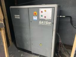 Compressor  Parafuso atlas copco ga15+ Balão 500 litos
