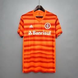 Camisa Internacional e Grêmio 2020/2021 1° Linha a preço de Custo