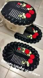 Título do anúncio: Jogos para banheiro em crochê