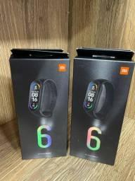 Xiaomi Miband 6  novo ( LOJA FÍSICA )
