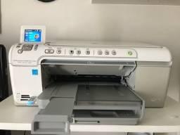Impressora Multifuncional HP Photosmart C5580 Color CD/DVD Bluetooth Cards