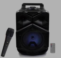 Caixa de Som Bluetooth Amplificada BT-1778 Com Microfone e Controle