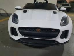 Carro Bandeirante Elétrico Jaguar Branco 12v