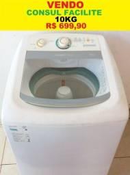 Máquina de Lavar 10Kg Consul Facilite 127V