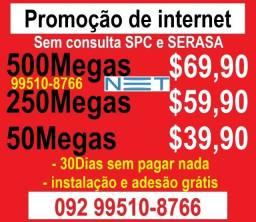 internet promoçao