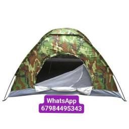 Barraca Camping Camuflada Militar 6 Lugares Top