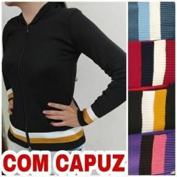 Casacos tricô com elastano