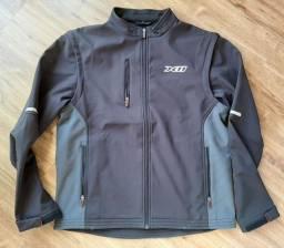 jaqueta motociclista *brinde  conjunto calça e capa de chuva