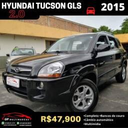 Hyundai Tucson GLS 2.0 2015 Automática/Banco Couro!