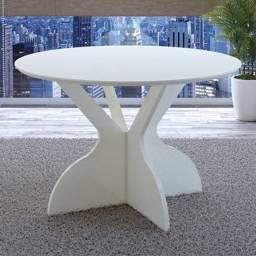 Título do anúncio: Tampo de mesa redonda 1.20m ideal para famílias ou amigos