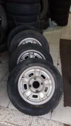 Conjunto de rodas de fusca aro 14