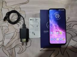 Motorola One Zoom 128GB biometria ( novíssimo )