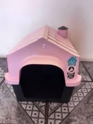Título do anúncio: Vendo casinha e prato de cachorro pequeno