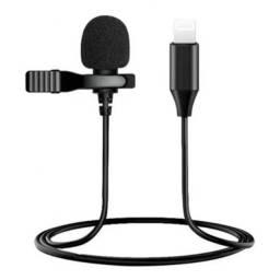 Microfone de Lapela Lightning Iphone - XO-MKF 03 - Cabo 2 metros