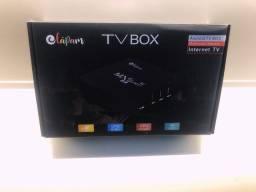 Título do anúncio: Tv Box Android 11.1 - 16/256 Gigas + BRINDE