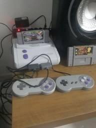 Última semana Super Nintendo Baby Restaurado como Novo.