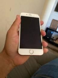 iPhone 6s 64GB c/ Tela trincada