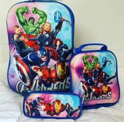 Kit Mochila Avengers