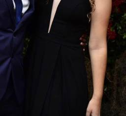 Vestido Preto Elegante c/ Bojo