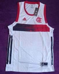 Regata do Flamengo basquete branca (disponível: G)