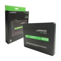Título do anúncio: SSD 480gb Warrior novo