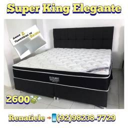 Título do anúncio: Cama Super King ELEGANT // MEGA PROMOÇÃO