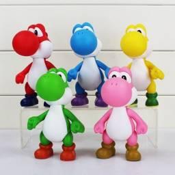 Coleção de Yoshis coloridos pvc/plástico