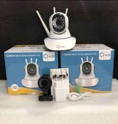 Câmera interna de segurança 3 antenas,Nova , Entregamos