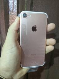 IPhone 7 Rosé 128 GB original vitrine + brindes