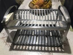 Escorredor de pratos aço inox