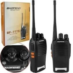 Rádio Comunicador o par Baoffeng