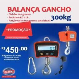 Balança Digital De Gancho 300 kg ? Entrega grátis