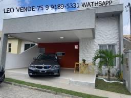 Leo Vende, linda casa a venda em condomínio, bairro Sim