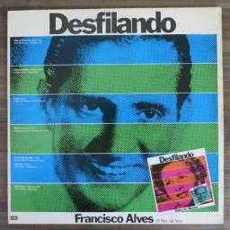 LP Disco de Vinil Francisco Alves / Dalva De Oliveira - Desfilando *com encarte