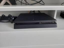 Título do anúncio: PS4 novíssimo com controles e jogos