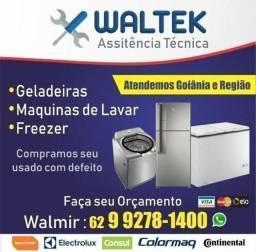Conserto geladeira e freezer e expositores