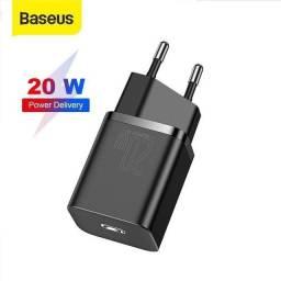 Carregador Baseus PD 20w Android /IPhone