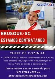 Título do anúncio: Contrata-se Chefe de Cozinha